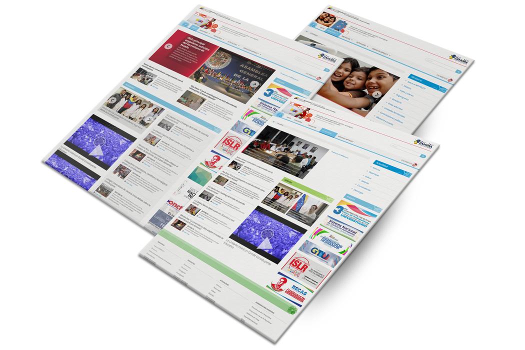 Desarrollo web para el Ministerio de Ciencia, Tecnología e Innovación