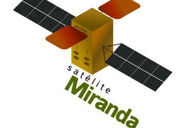 Logo de divulgación del Satélite Miranda