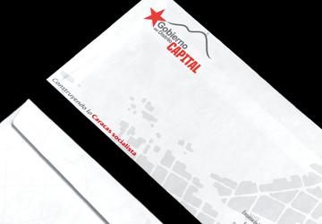 Diseño de materiales institucionales para el Gobierno del Distrito Capital