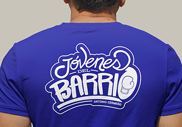 Diseño de materiales promocionales para Jóvenes del Barrio