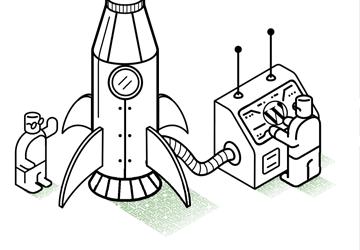 Ilustración para sistemas de almacenamiento Tepuy