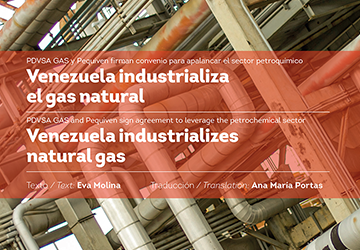 Diseño editorial para Revista Venezuela Gas