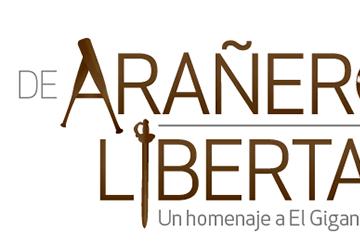Diseño de marca para la obra De arañero a Libertador