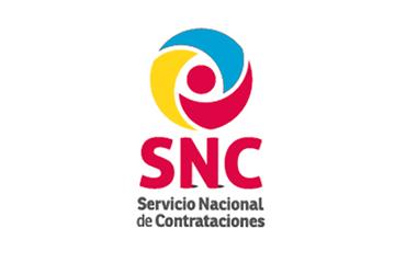 Diseño de marca para el Servicio Nacional de Contrataciones (versiones)