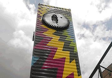 Diseño de rotulado para para Parque Cultural Tiuna el Fuerte